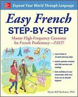 Easy French Step-by-Step by Myrna Bell Rochester PAPERBACK 2008