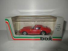 BOX MODEL 1/43 FERRARI 275 GTB/4 CON RUOTE A RAGGI 1966 COD. 8416