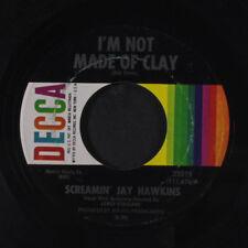 SCREAMIN' JAY HAWKINS: I'm Not Made Of Clay / All Night 45 (sl lbl wear) Soul