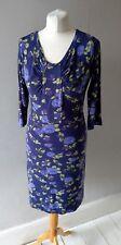 AMARI WOMENS LADIES BEAUTIFUL JERSEY STYLE FLORAL TUNIC DRESS SIZE 8 10