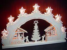 2d Arco Arco de luces Mercado navideño Original Erzgebirge 52 x 32cm 10710