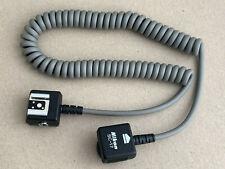 Nikon SC-17 SC17 Flash extension cable Verbindungskabel Blitzkabel Kabel tested