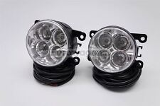 Porsche Cayenne LED Front Fog Lights Lamps Pair Set Left Right With Wiring OEM