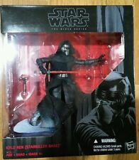 NEW  Star Wars Kylo Ren Starkiller Base Figurine Black Series - FREE SHIPPING