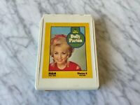 Dolly Parton The Best Of 8-Track Tape 1970 RCA P8S-1645 Down From Dover RARE OOP