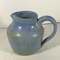 VINTAGE STUDIO POTTERY JUG - MAKERS MARK ON BASE. (#B4)