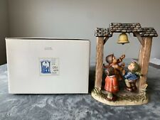 """Goebel Century Collection Hummel """"Let's Tell The World"""" #487 Tmk 6 Signed"""