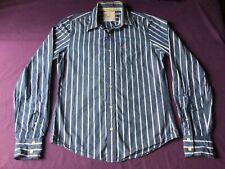 Hollister Men's Medium, Multiple Color stripes Long Sleeve, Button Down Shirt
