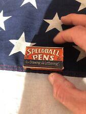 Hunt Co Speedball Pens Box Set of B0-B5 Pen Ink Nibs in Vintage Box - Round Type