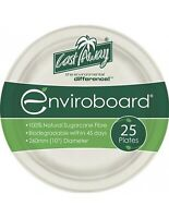 Cast Away Plate Enviroboard Round 10 inches  260 by 260 by 25 mm x 25