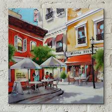 """Imagen De Cerámica Decorativa Cafe romper Arte Azulejo por Brent Heighton 12x12"""" 05004"""