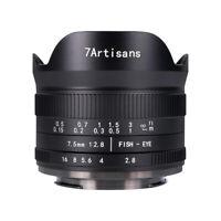 7artisans 7.5mm F2.8 Ver.II Manual Fisheye Lens Fujifilm Fuji X S10 XPro3 XT4 E1