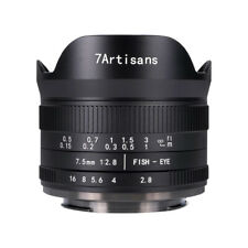 7artisans 7.5mm F2.8 Ver.II Manual Fisheye Lens Nikon Z5 Z6 Z7 Z50 Z6II Z7II