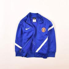 Nike Junge Kinder Sweater Sweat Tracktop Gr.122 Manchester United Dri-Fit, 47335