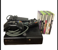 Microsoft Xbox 360 E Model 1538 Console, Cords, Controller Bundle (ParentalLock)