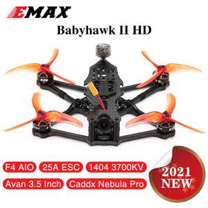 Emax Babyhawk II HD 155mm F4 AIO FPV Racing Drone Caddx Nebula Pro Vista PNP