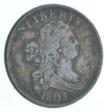 1/2c - HALF CENT - 1803 Draped Bust United States - Half Cent *391