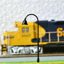 10 pcs HO Scale Model Lamppost SMD LED Made Street Light No Hot/Melt Lamp #R32
