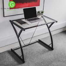 Metal Glass Computer Desks Home Office Furniture Ebay