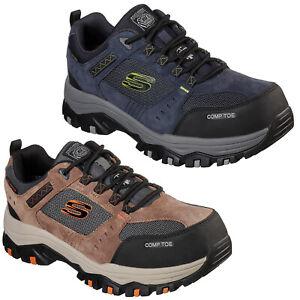 Skechers Work: Greetah Comp Toe Safety Shoes Mens Waterproof Composite Trainers