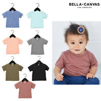 Bella + Canvas Baby Triblend Short Sleeve Tee 3413B - Polycotton Summer T-shirt