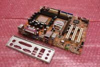 WinFast 760M02-GX-6LS Socket 754 VGA PCI PCI-E DDR2 Motherboard and Backplate