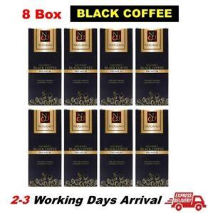 SALE 8 Box Nugano Gourmet Black Coffee Ganoderma OG Cafe FREE EXPRESS SHIPPING