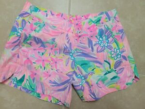LILLY PULITZER PULL ON SHORTS WOMENS XXS