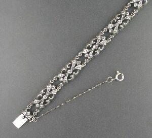 9901068 925er Silber Armband mit Swarovski-Steinen L19,5cm