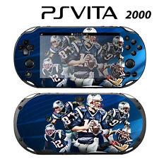 Vinyl Decal Skin Sticker for Sony PS Vita Slim 2000 Tom Brady New Patriots
