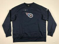 NEW Nike Tennessee Titans - Navy Dri-Fit Pullover (2XL)