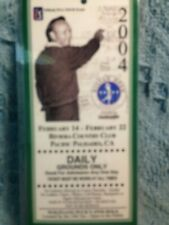 2004 NISSAN OPEN RIVIERA COUNTRY CLUB ARNOLD PALMER TRIBUTE DAILY GROUNDS PASS
