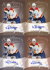 05-06 Artifacts Nathan Horton 1/75 Auto COPPER Auto-Facts Panthers 2005