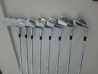 Mizuno MP-33 Irons Set 3-PW S300 Stiff Forged New Grips Fitted