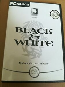 Black & White | PC Game cd rom complete with manual. Good condition