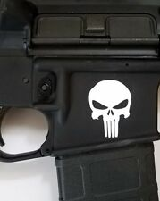 PUNISHER X2 AR15 Magwell decal - Oracal magpul dpms ak47 1911 ammo rifle ruger