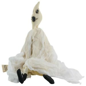 "Joe Spencer Gareth Ghost Halloween Doll Figure Gathered Traditions 20"""