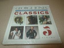 GEORGE JONES ORIGINAL ALBUM CLASSICS 5 CD BOX