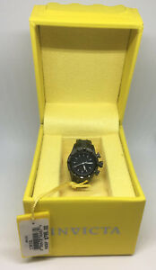 Invicta 13832 Gun Metal Black Dial Mini Watch Collection Bolt For Desk