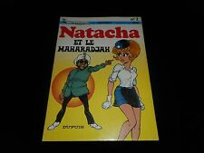 Walthéry / Gos : Natacha 2 : Natacha et le Maharadjah Edition Dupuis 1981