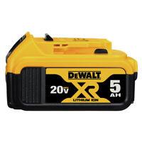 DEWALT 20V MAX XR Premium 5 Ah Li-Ion Battery (1-Pc) DCB205 New