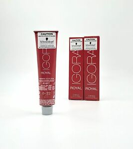 NEW Schwarzkopf IGORA Royal - BLONDES 60ml Professional Permanent Colour