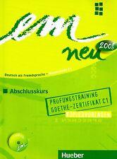 Hueber EM NEU 2008 Abschlusskurs PRUFUNGSTRAINING C1 Kopiervorlagen mit CD @NEW@