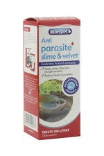 Interpet Anti Parasite Slime & Velvet Treatment Aquarium Fish Tank Fluke & Other