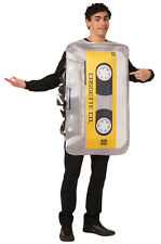 Brand New 1980's 1990's Mix Tape Funny Adult Costume