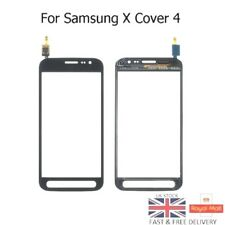 New Samsung Xcover  X Cover 4 G390 Touch Digitizer Lens with Adhesive - Black