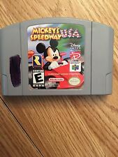 Mickey's Speedway USA Nintendo 64 N64 Game BB1