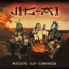 JIG-AI - Rising sun carnage Digipack CD (Bizarre Leprous, 2014) *Jap Grind Ltd.