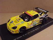 Spark #S2541 1/43 Resin Corvette C6 ZR1, 1st LMGTE Pro '11 LeMans, SiriusXM, #73