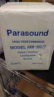 Parasound awm-380/T Outdoor new speaker bin000